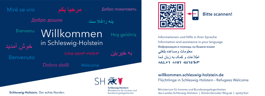 Flüchtlinge in Schleswig-Holstein - Refugees Welcome