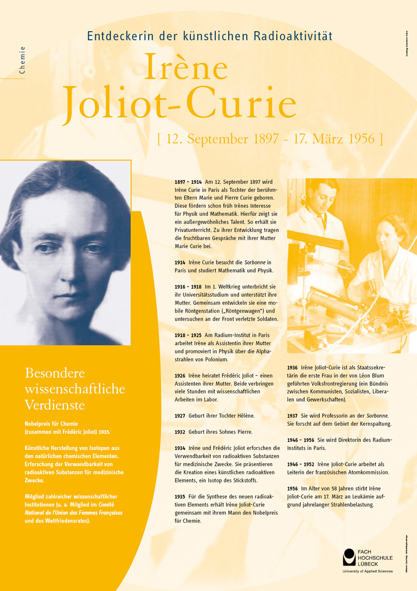 lebenslauf poster irne joliot curie